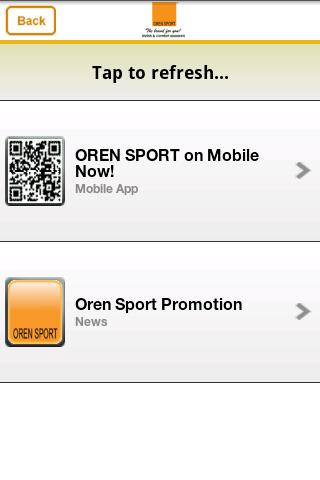 Oren Sport- screenshot