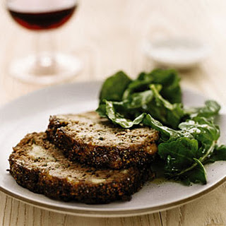 Stuffing Meat Loaf with Marmalade Glaze.