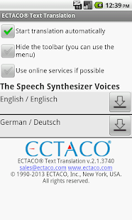 German Offline Translator - screenshot thumbnail