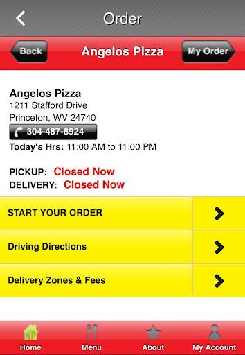 Angelo's Pizza Princeton