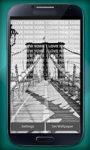 I Love New York Live Wallpaper