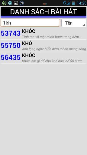 Mã số Karaoke Việt 2014|玩音樂App免費|玩APPs