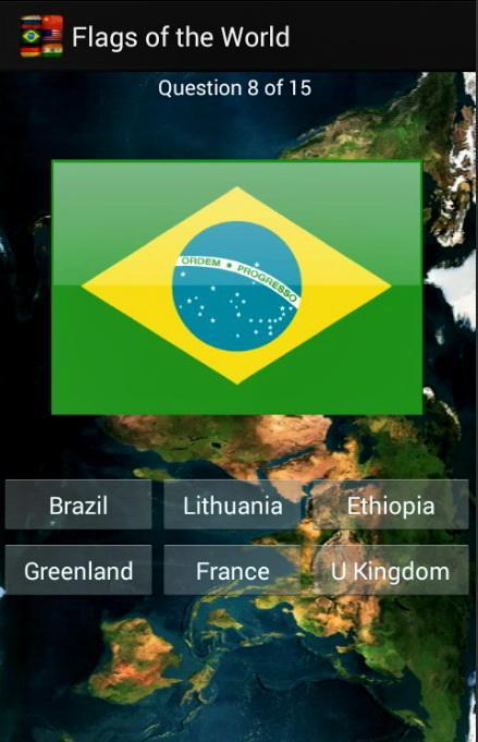 Угадай флаги мира screenshot