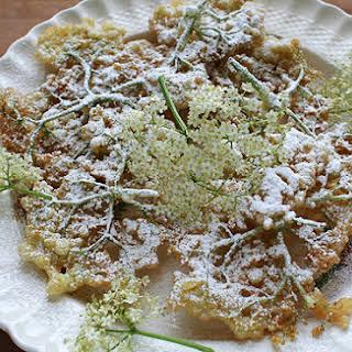 Elderflower Fritters.