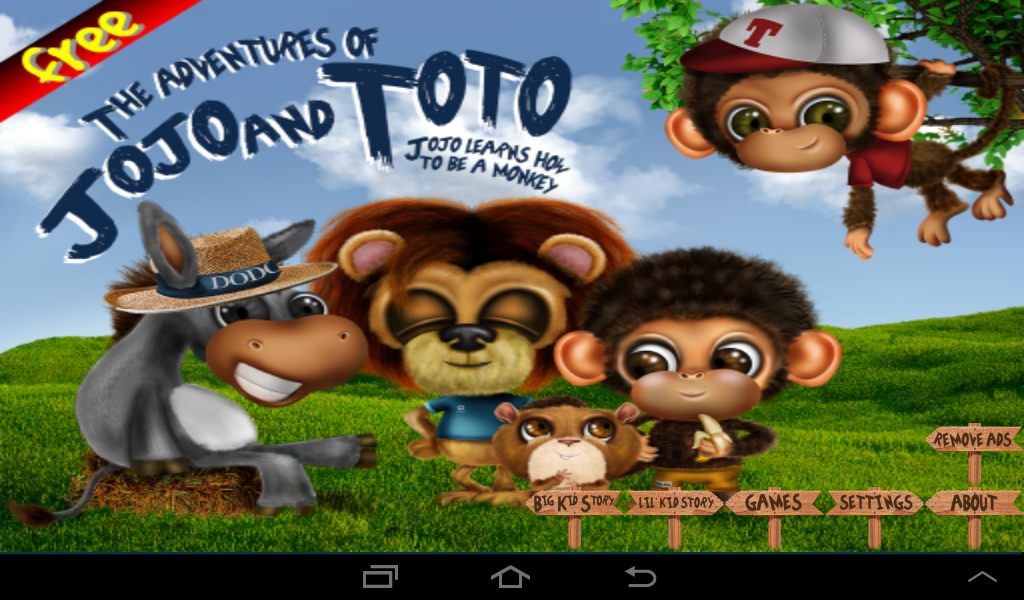 Adventures of JoJo & ToTo Free- screenshot
