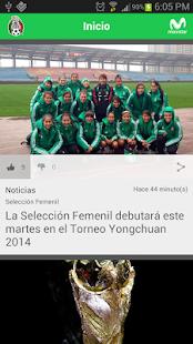 Selección Mexicana Oficial - screenshot thumbnail
