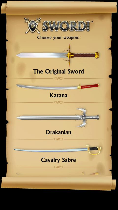 SWORD! - screenshot