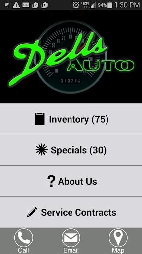 DellsAuto.com used car dealer