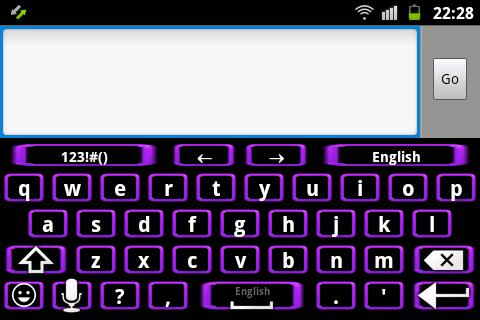 【免費個人化App】霓虹燈紫色的鍵盤-APP點子