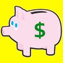 Salary Tracker - Piggy Bank icon