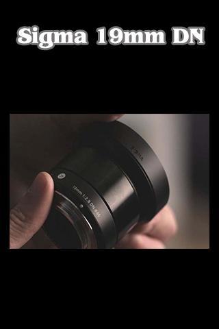 Sixma 19mm F2.8 DN Tutorial