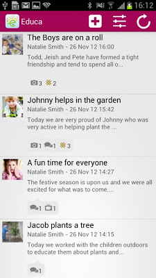 Educa Touch - screenshot