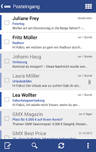 GMX Mail - screenshot thumbnail