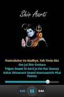 Screenshot of Shiv Aarti - Audio & Lyrics