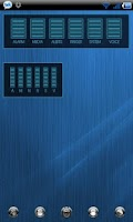 Screenshot of ICS GLOW Audio Manager Skin