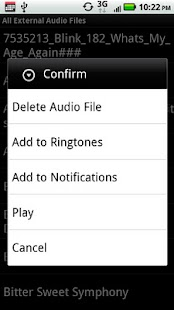 Delete Ringtone - screenshot thumbnail