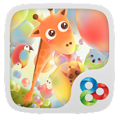 Candy Balloon GOLauncher Theme