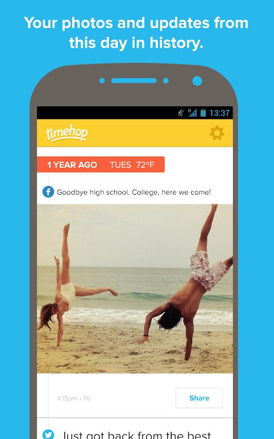 Timehop - screenshot