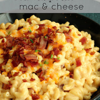 One-Pot Bacon Chipotle Mac & Cheese