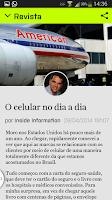 Screenshot of INFO Notícias