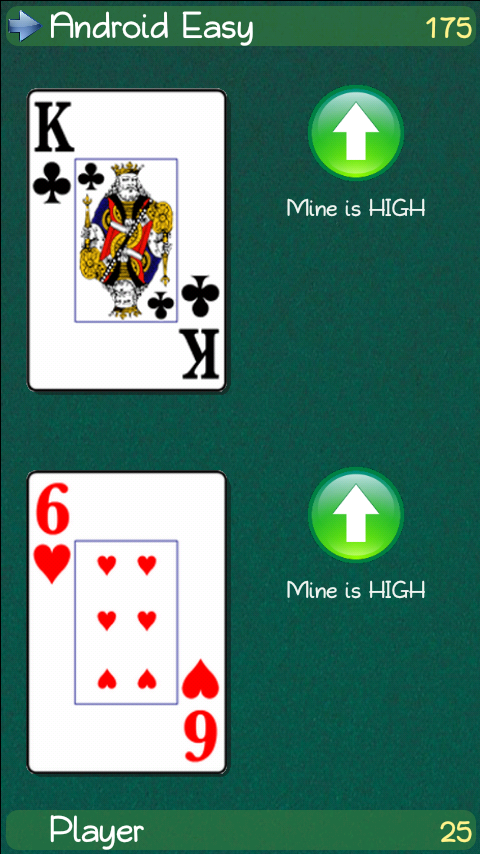 The Indian (Cards Game)- screenshot