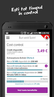 MyVodafone- screenshot thumbnail