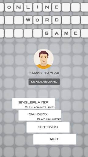 Online Word Game
