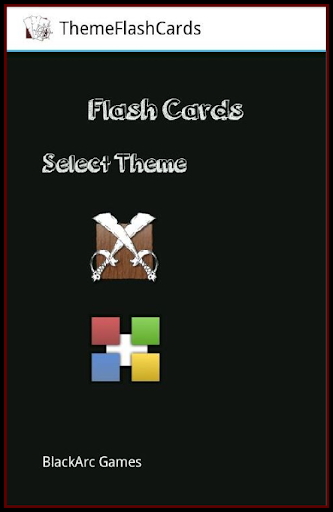 Learn ABC Flash cards Game.