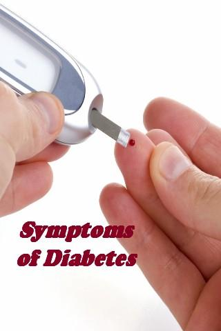 Symptoms of Diabetes + Recipes