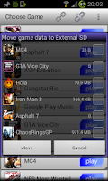 Screenshot of GL to SD(root)