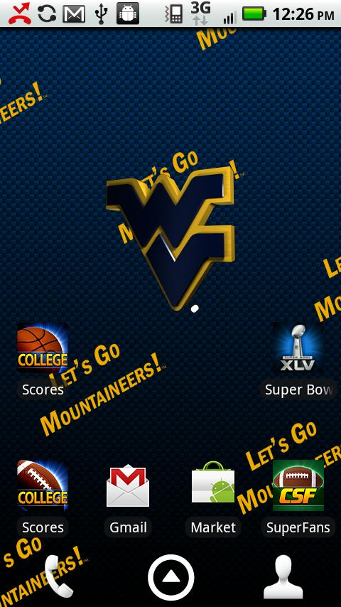 West Virginia Live Wallpaper - screenshot