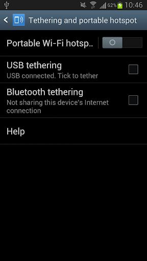 【免費通訊App】USB Tethering /Tether-APP點子
