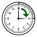 Alarm every 15 minutes icon