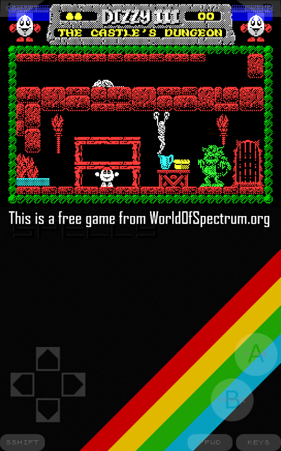 Speccy - ZX Spectrum Emulator- screenshot