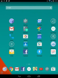 Galaxy S6 Launcher Theme- screenshot thumbnail