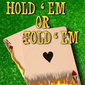 Hold Em Or Fold Em Heads UP logo