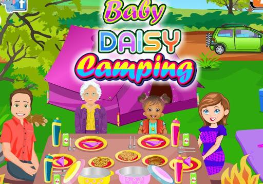 Baby Daisy Camping