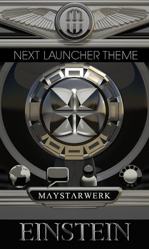 Next Launcher Theme Einstein