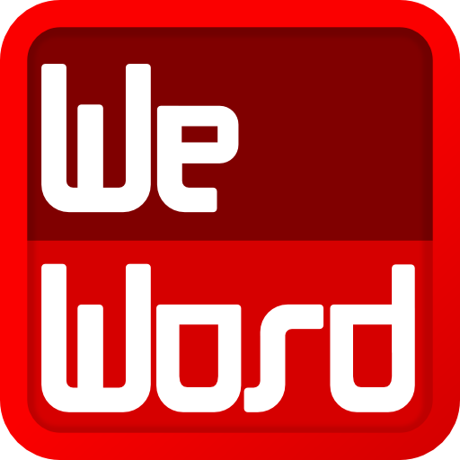 WeWord is a word puzzle! LOGO-APP點子