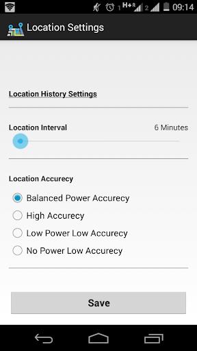 GPS Location History