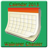 Calendar 2013 Wallpaper Change