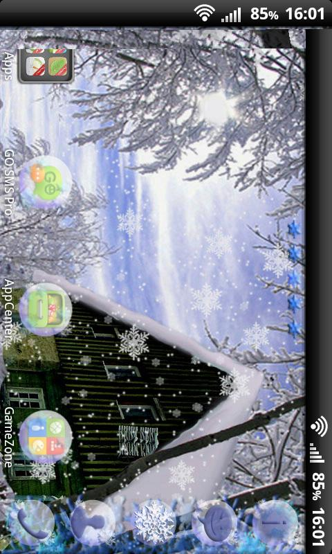 Winter Theme for GO Launcher- screenshot