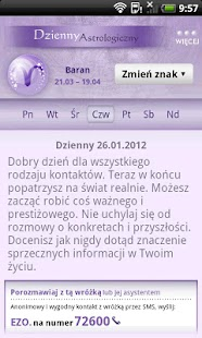 Horoskop WP.PL - screenshot thumbnail