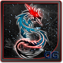Dragon Tribal Neon LWP icon