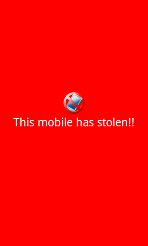 UnTouchedMe Free : Anti theft - screenshot
