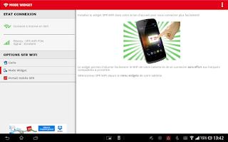 Screenshot of SFR WiFi