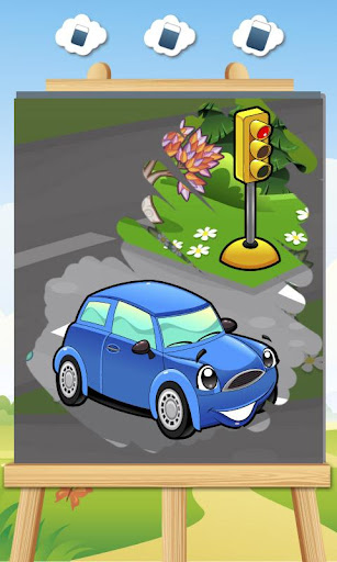 子供のための車ゲーム