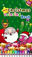 Screenshot of Wow! Christmas Coloring Book
