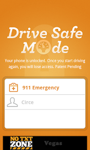 DriveSafe Mode- screenshot thumbnail