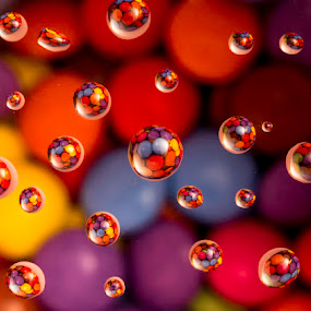 Smart he's by Romain Bruot - Abstract Water Drops & Splashes ( water, macro, candy, hard case, drop )